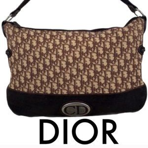 👑 DIOR XLARGE SHOULDER/ CROSSBODY 💯AUTHENTIC